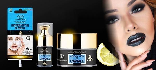 Set luxusní kosmetiky z kaviáru pro boj proti stárnutí