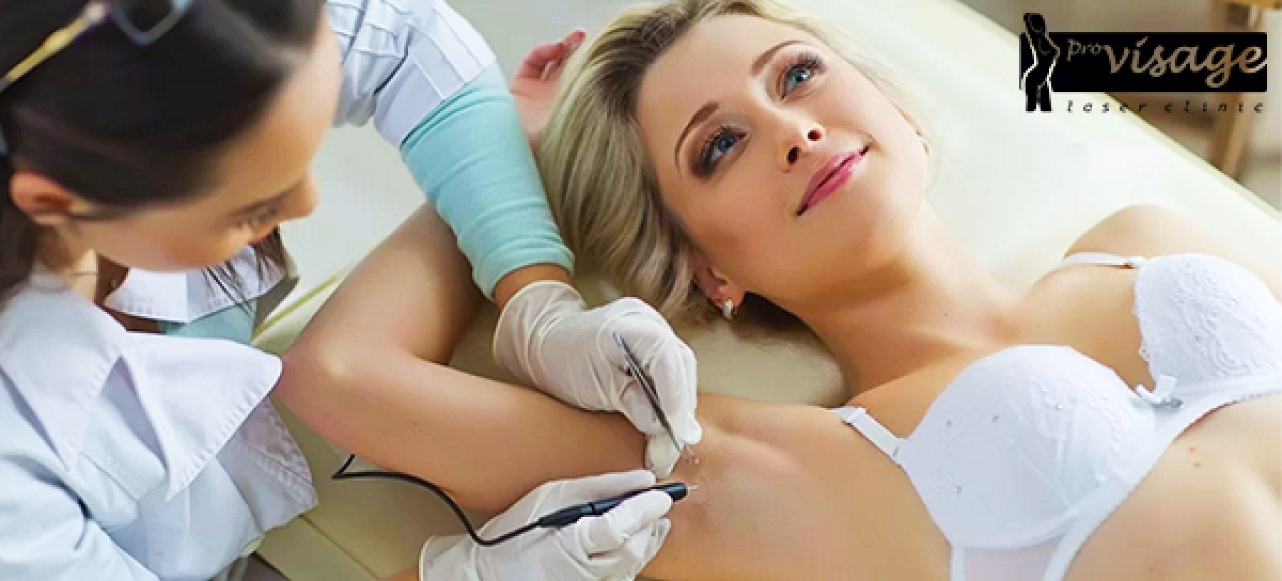 Trvalá epilace diodovým laserem – PRO visage