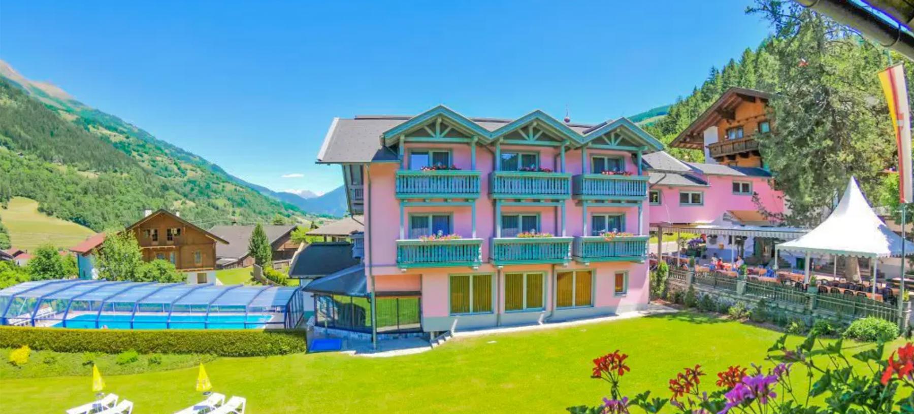 Rakouské Alpy s neomezeným wellness v hotelu Margarethenbad****