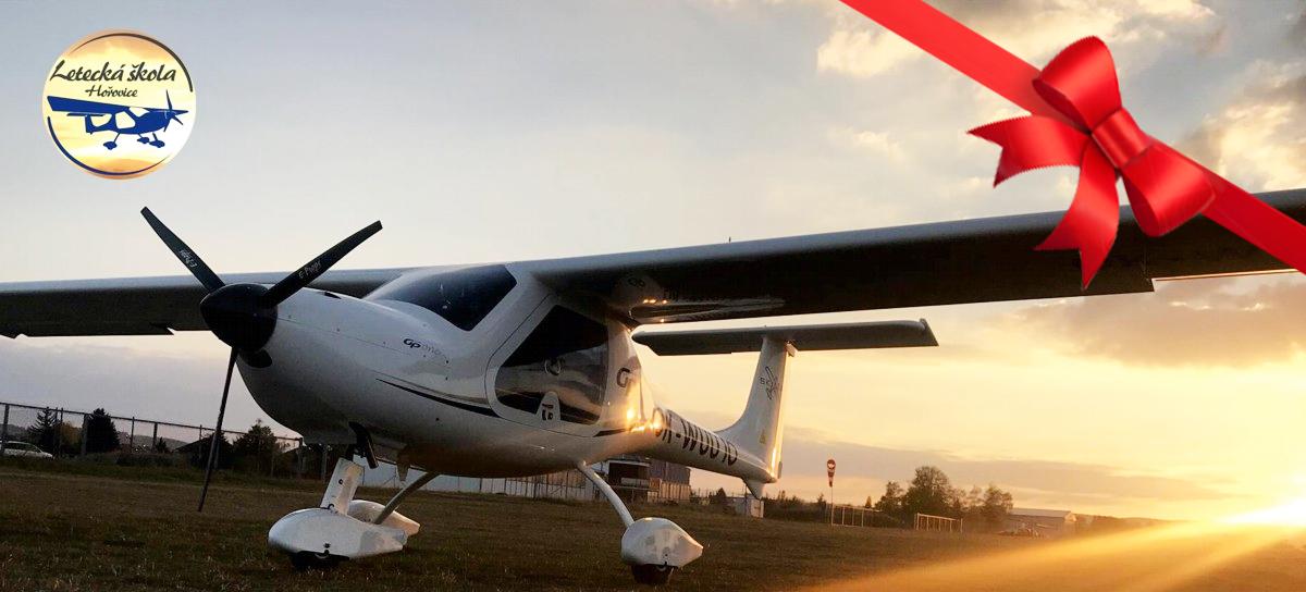 Pilotem na zkoušku pro 1 osobu na 20 nebo 30 minut