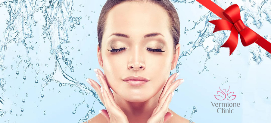 Kompletní kosmetické ošetření pro zářivou a čistou pleť