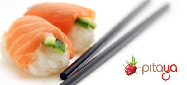 Sushi MENU v oblíbené restauraci Pitaya
