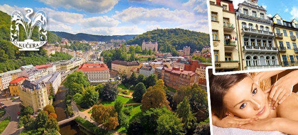 Romantický pobyt v Karlových Varech pro 2 osoby