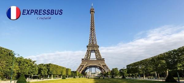 4denní Paříž s ubytováním a snídaní pro 1 osobu