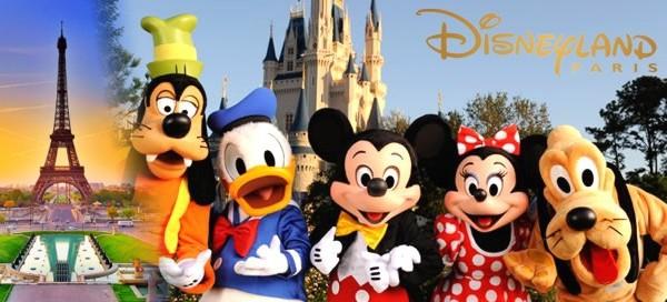 Disneyland a Paříž na otočku nebo s ubytováním