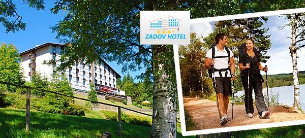 3denní pobyt na Šumavě pro dva v hotelu Zadov***+