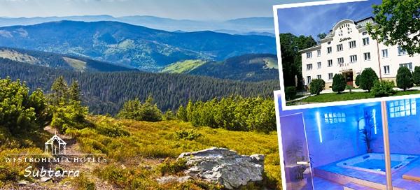 Krušné hory na 3 dny pro dva s neomezeným WELLNESS