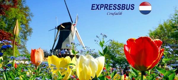 4denní zájezd do Holandska s ubytováním v hotelu