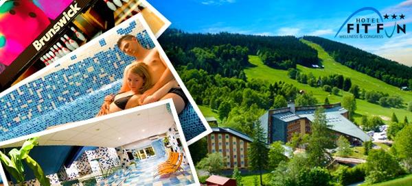 Wellness pobyt pro 2 v hotelu Fit Fun v Harrachově