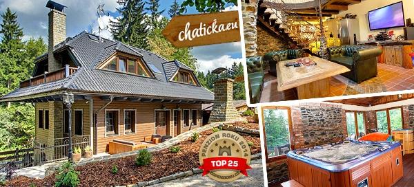 3 dny v luxusní chatě v Beskydech až pro 10 osob