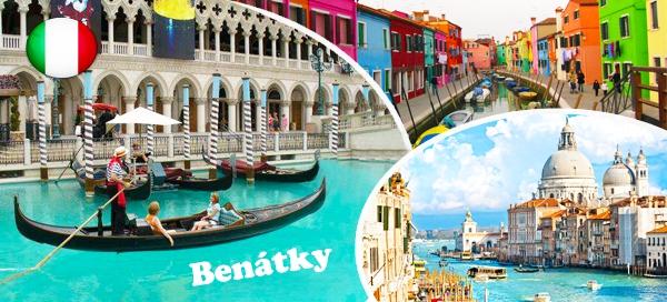 Poznávací zájezd do Benátek pro 1 osobu
