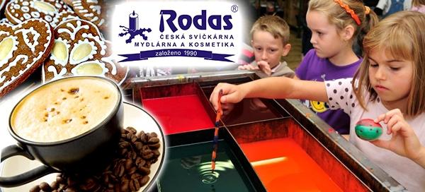 Rodas – výroba svíčky do skleněného poháru