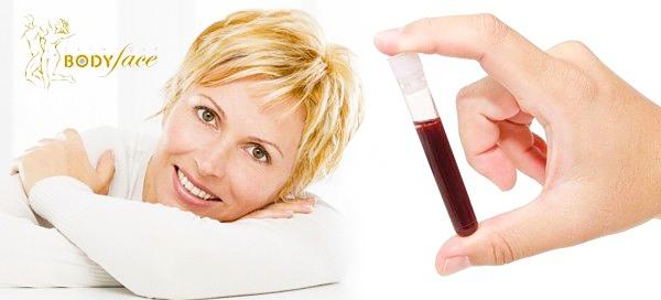 PLAZMATERAPIE - aplikace vlastní krevní plazmy