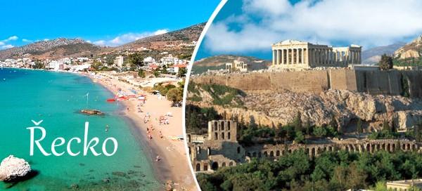 Poznávací zájezd do Řecka letecky nebo busem