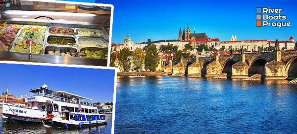 Vyhlídkové plavby po Vltavě pro 1 osobu