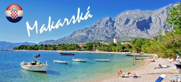 Chorvatsko, Makarská riviéra na víkend pro 1 osobu