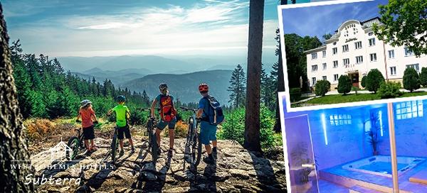 Krušné hory na 3–6 dní pro dva s wellness
