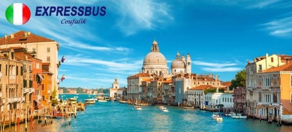 Poznávací zájezd do Benátek a koupání na Lidu