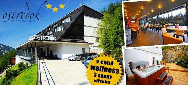 Letní wellness dovolená pro 2 v hotelu Ostredok***