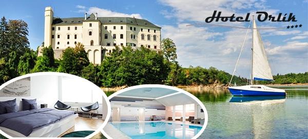Luxusní léto v hotelu Orlík**** pro 2 osoby