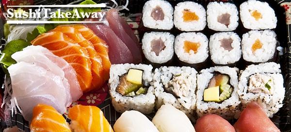 Kupón na až 68% slevu na sushi sety s sebou