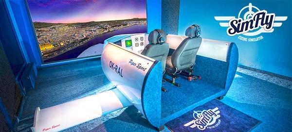 Parádní zážitek na leteckém simulátoru SimFly