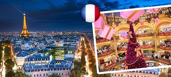 4-denní adventní zájezd do Paříže vč. ubytování