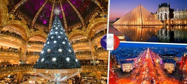 4-denní adventní zájezd do Paříže a Versailles