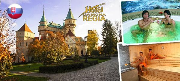 Hotel Regia – podzimní pobyt pro dva s polopenzí