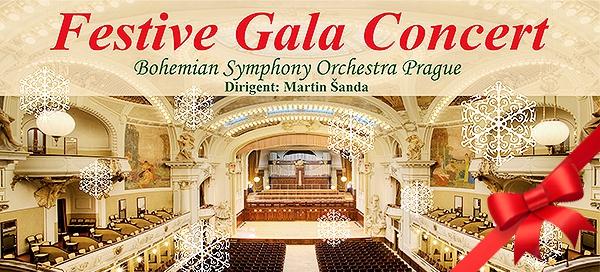 Sváteční koncert ve Smetanově síni Obecního domu
