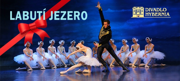 Balet Labutí jezero v divadle Hybernia v Praze