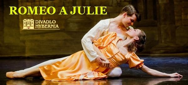 Balet – Romeno a Julie v divadle Hybernia