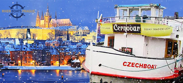 Adventní hodinová plavba lodí po Vltavě