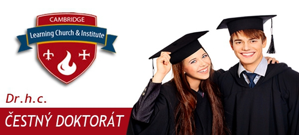 Čestný doktorát honoris causa (dr.h.c) od CLCI