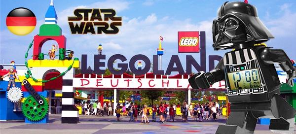 Zájezd do německého Legolandu pro 1 osobu