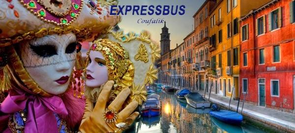 Zájezd na proslulý Karneval v Benátkách 2017