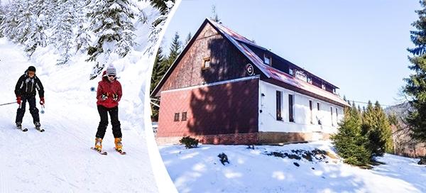 Šumava v horské chatě s polopenzí pro 2 osoby