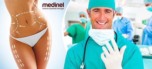 Špičková chirurgická liposukce na klinice Medinel