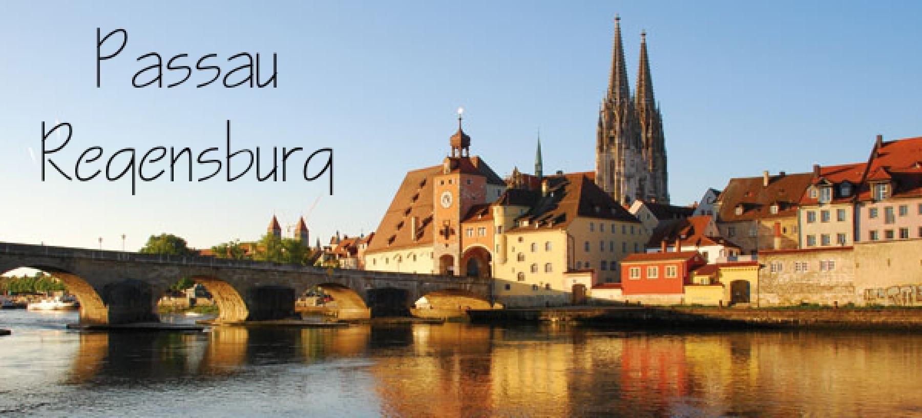 Perly na Dunaji – Regensburg a Passau – vlakem
