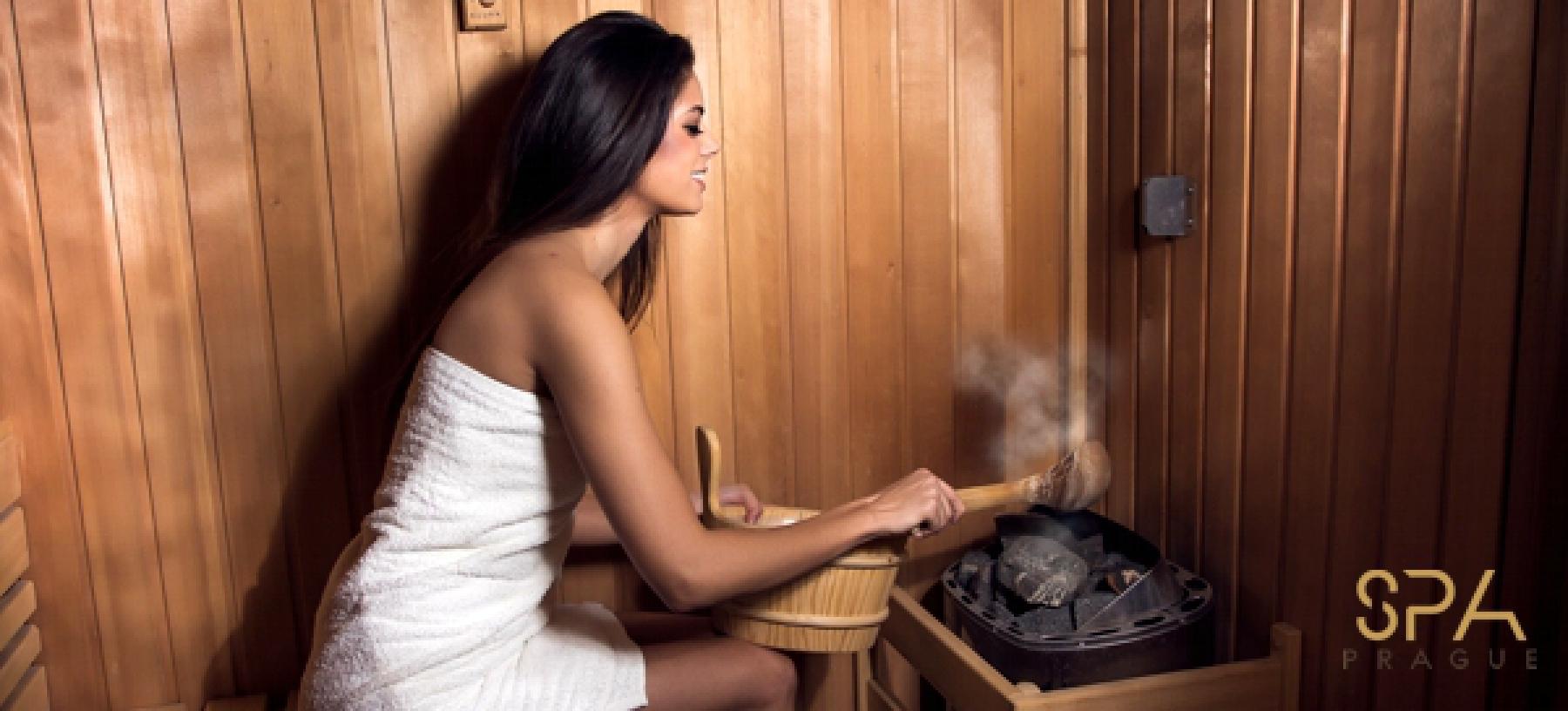 Měsíční neomezený vstup do sauny a páry vč. pití