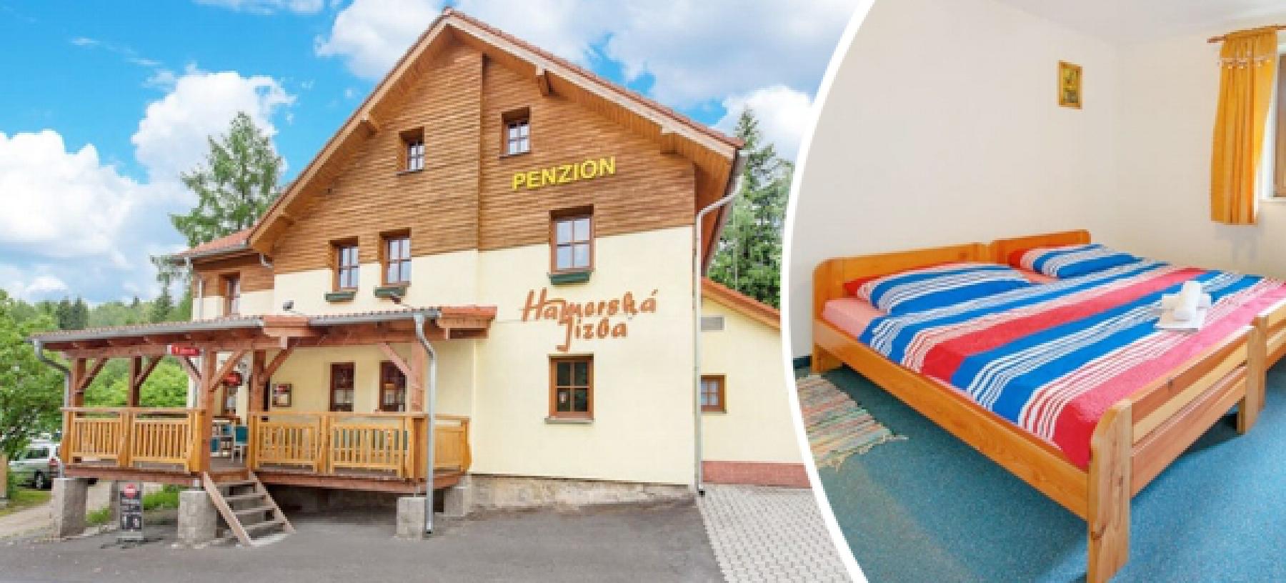 Krušné Hory v penzionu Hamerská Jizba pro 2 osoby