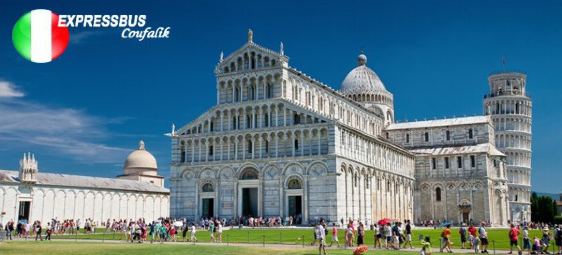 Za krásami Toskánska – Florencie, Pisa, Elba