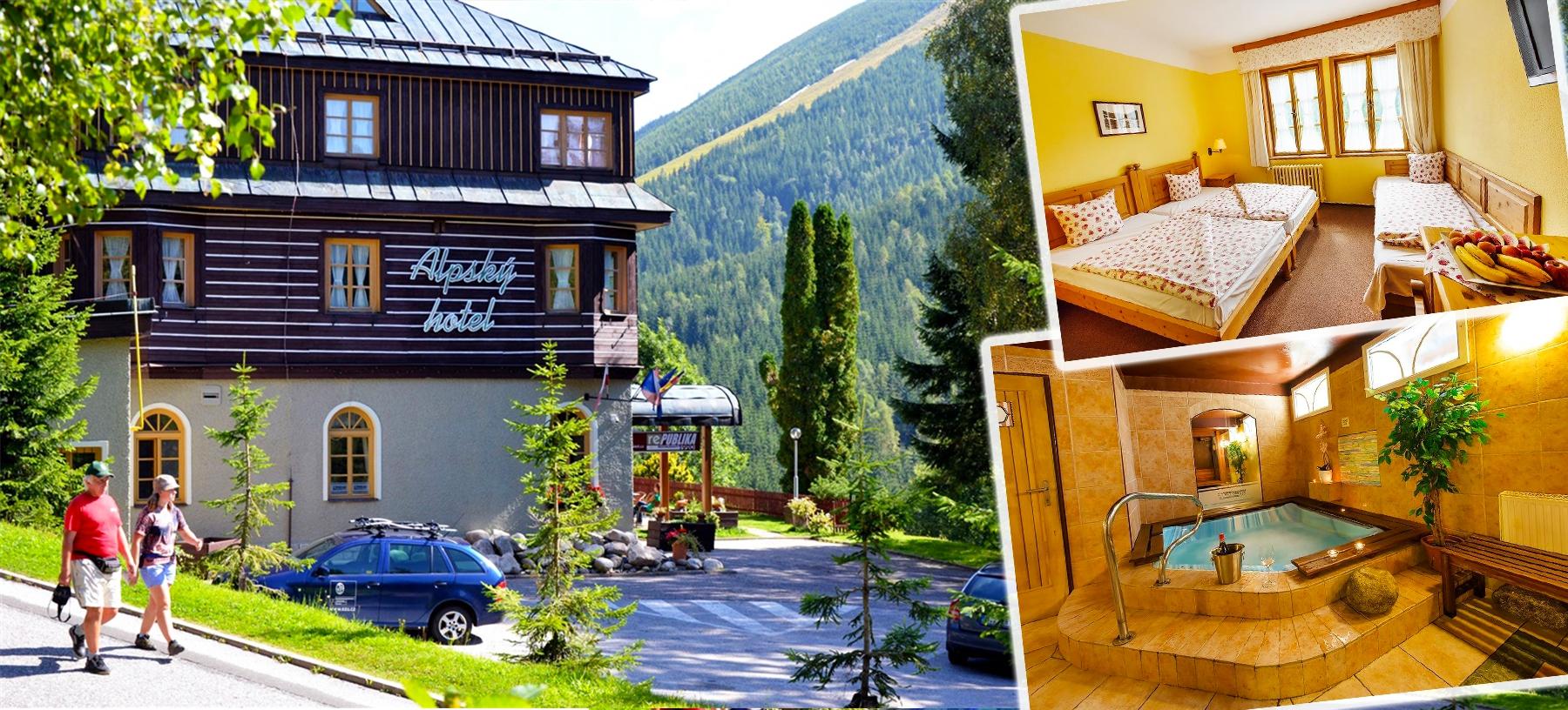 Wellness pobyt v Alpském hotelu***+ s polopenzí
