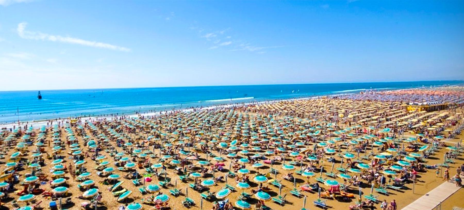 Jednodenní koupání u moře v Itálii pro 1 osobu