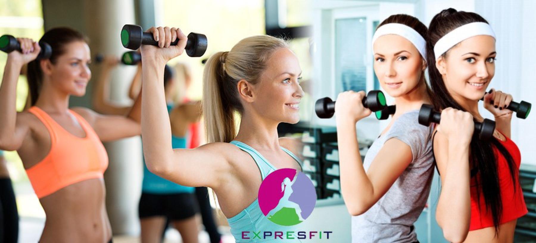 Neomezený vstup do fitness pro ženy na 4 měsíce