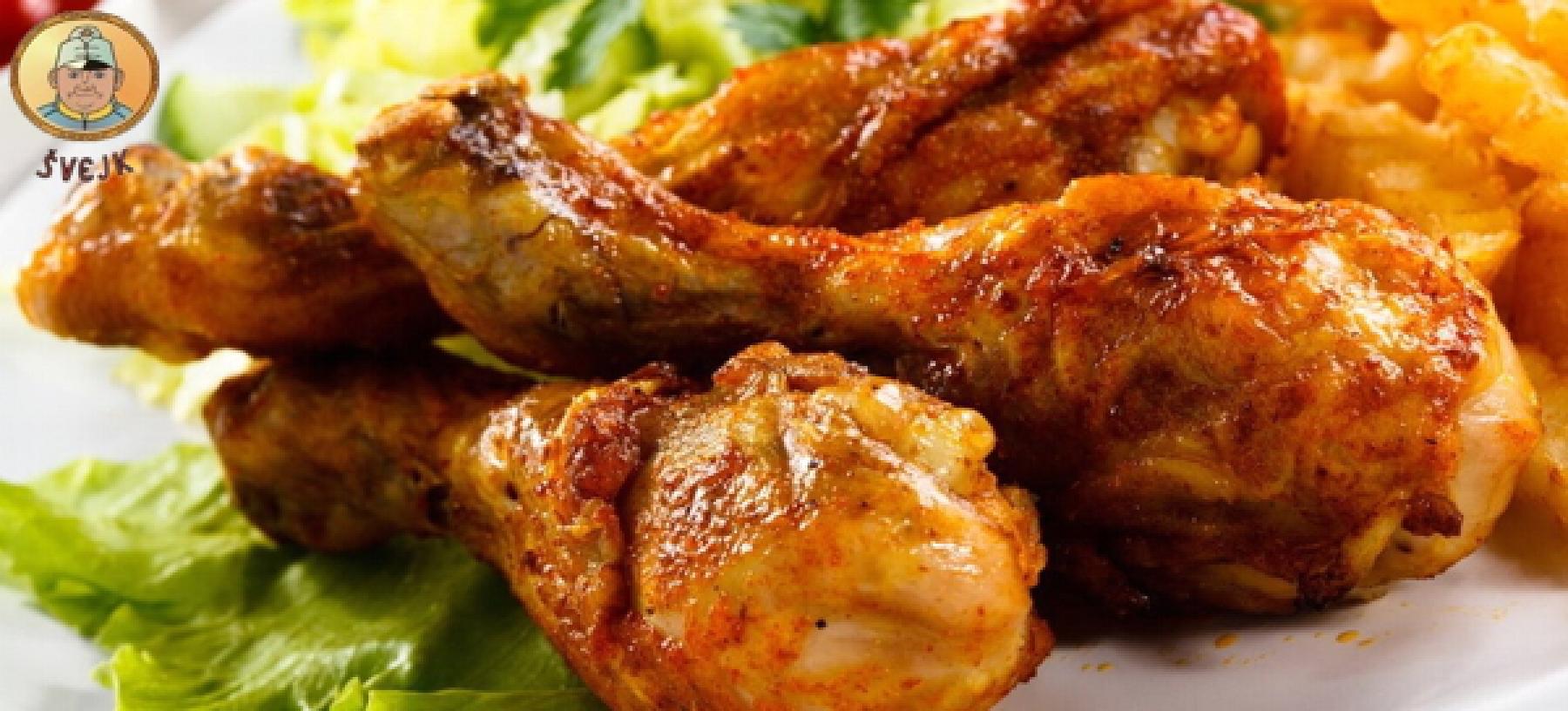 1 kg kuřecích sweet chilli paliček pro 2–4 osoby