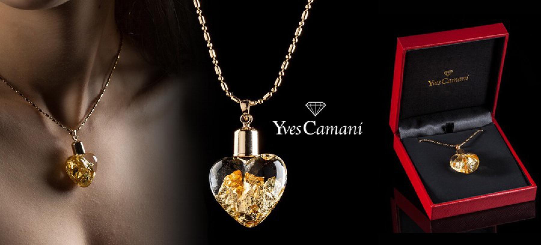 Luxusní náhrdelník original Yves Camani