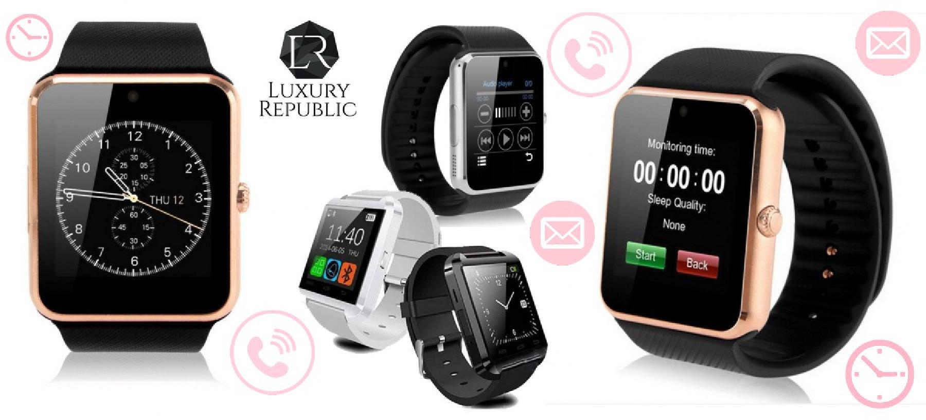 Chytré hodinky kompletně v češtině - 4 varianty