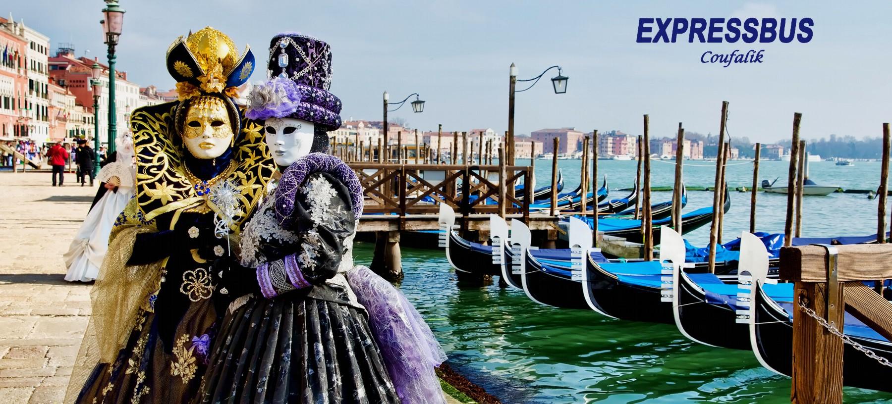 Zájezd na proslulý Karneval v Benátkách 2018