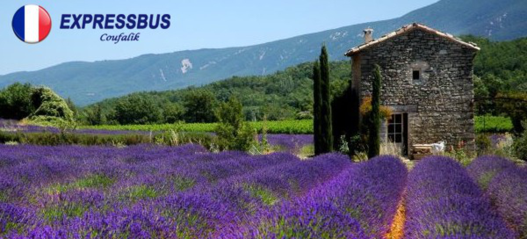 Letní poznávací zájezd do Provence pro 1 osobu